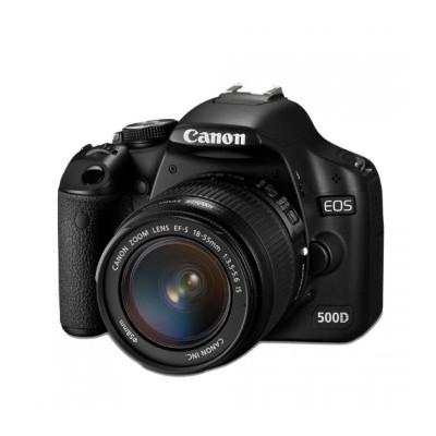 Canon 500D foto aparatas